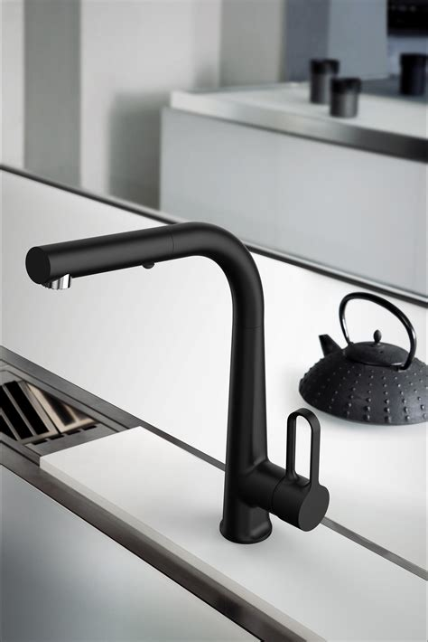 i kitchen black kitchen taps from fima carlo frattini