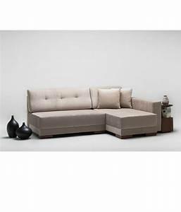 Furny apollo cream l shape sectional sofa with right side for Sectional sofa with right side chaise