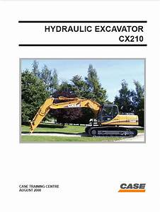 Case Cx210 Hydraulic Excavator Pdf Manual