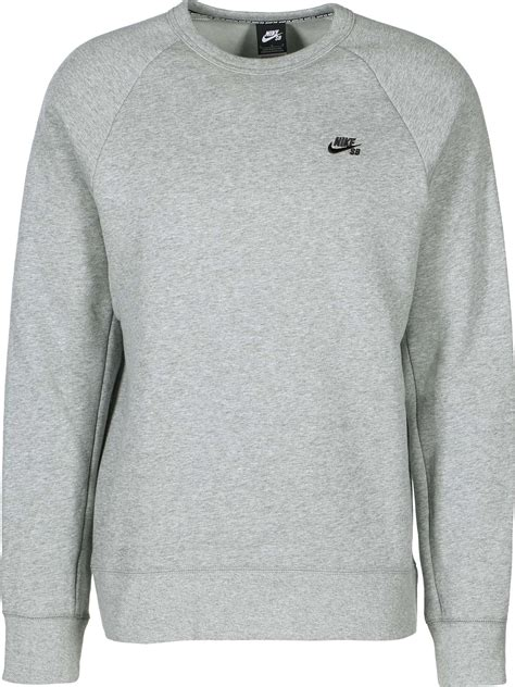 nike sb sweater nike sb icon sweater grey