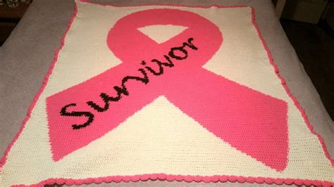 Large Pink Survivor Ribbon Standard Word Chart-CWC1029