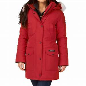 Canada Goose Trillium Parka Jacket Red Free UK Delivery