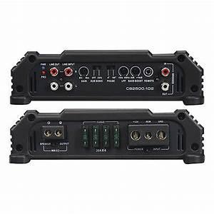 Orion Cb2500 1d2 Cobalt Class D Monochannel Amplifiers
