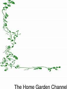 Green Border Vine Clip Art at Clker.com - vector clip art ...