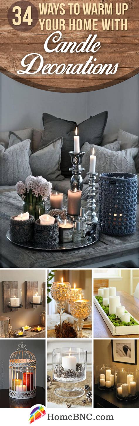 Decorating With Candles by 34 Best Candle Decoration Ideas And Designs For 2019