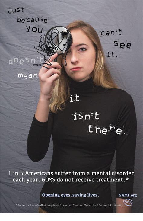 mental illness awareness ad campaign  behance