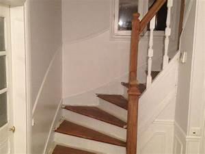 img 2180 deco pinterest escalier blanc escaliers et With good peinture d une maison 7 decoration montee descaliers
