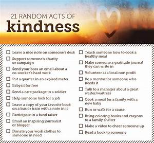 53 Random Acts of Kindness Ideas - Shari's Berries Blog