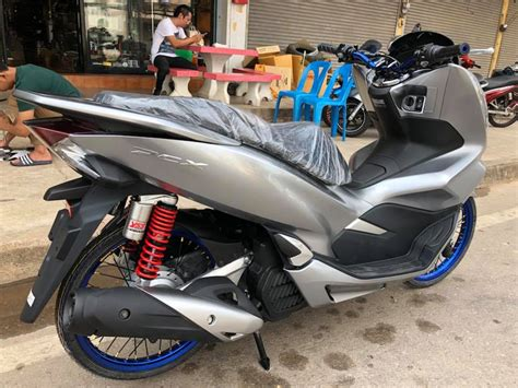 Pcx 2018 Pantip by Pcx 150 2018 รถใหม สดๆจากศ นย เต อะไหล แต ง