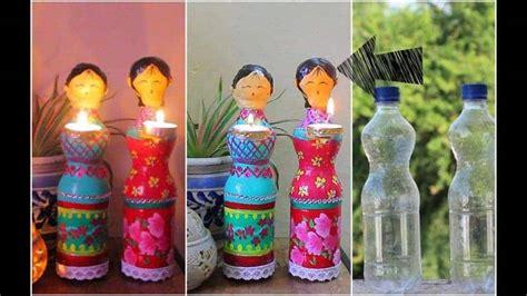 doll diya  plastic bottles simple craft