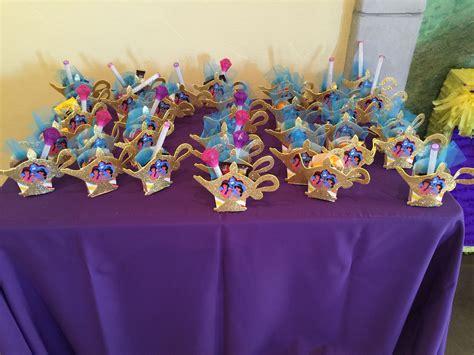 princess jasmine party favors aladdin theme