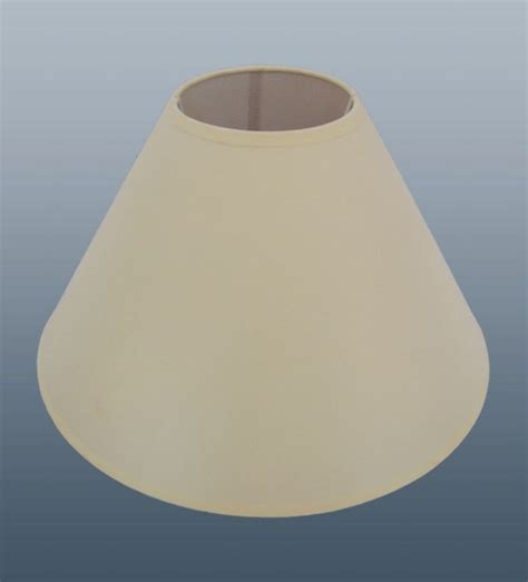 36 x 9 quot plain coolie cream lamp shades job lot wholesale