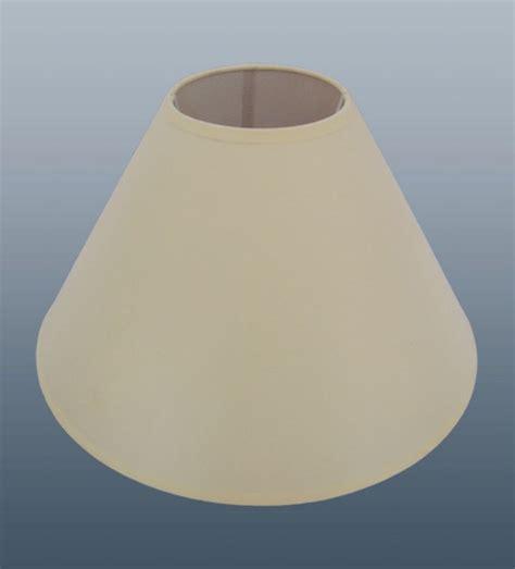 36 X 9 Quot Plain Coolie Cream Lamp Shades Job Lot Wholesale