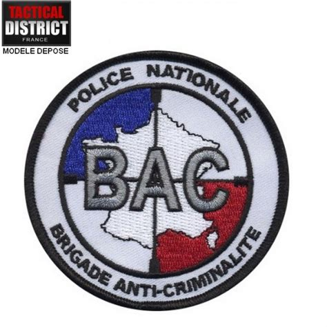 bureau suisse ecusson bac brigade anti criminalité