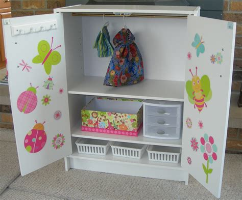 wardrobe closet diy doll wardrobe closet