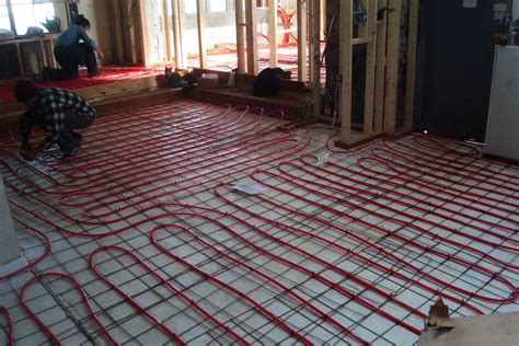 outdoor heater electric radiant floor heating basics cost pros cons
