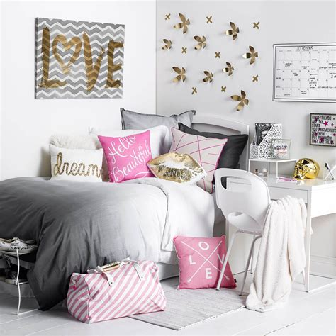 Girly Boss Room Available On Dormifycom Dorm Bedding