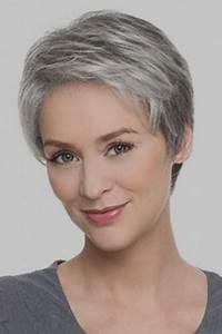 Coupe Cheveux Gris Femme 60 Ans : coupe courte femme 60 ans 2018 ~ Voncanada.com Idées de Décoration