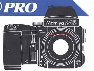 Manual For My Mamiya 645 Pro