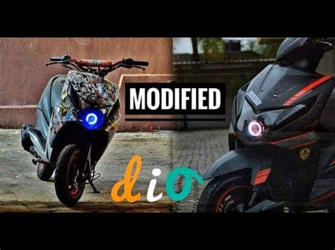 Dio Modified by Top 20 Modified Honda Dio Part 3