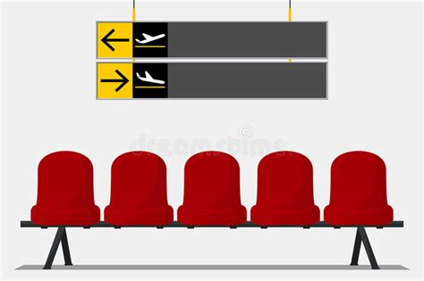 siege salle d attente siège d 39 aéroport dans la salle d 39 attente signage de