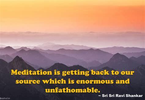 meditation quote wallpapers  sri sri ravi shankar