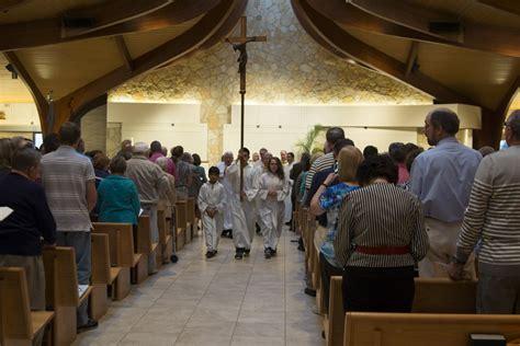 fr rizzos anniversary mass reception st hubert hoffman