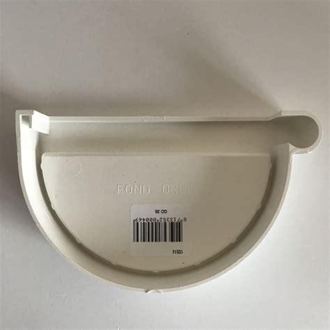 gouttière pvc blanc fond de goutti 232 re droit en pvc blanc 224 coller pour gd25