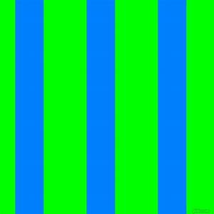Dodger Blue and Lime vertical lines and stripes seamless