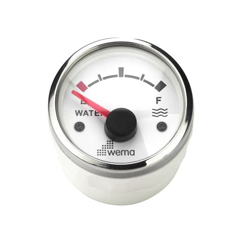 Wema Boat Gauges by Wema Water Stainless Bezel Float Your Boat