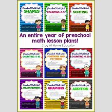 How To Write Preschool Lesson Plans For Math  A Step By Step Guide  Cover Pages, Lesson Plans