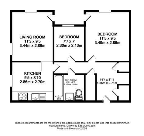 floor plan of two bedroom flat ground floor unfurnished 2 bedroom apartment ox14 ref