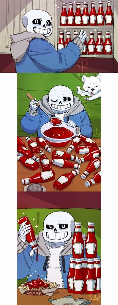 Sans Undertale Papyrus Meme Bone Ketchup Memes