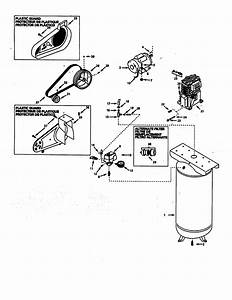 Campbell Hausfeld Vt6329 Air Compressor Parts