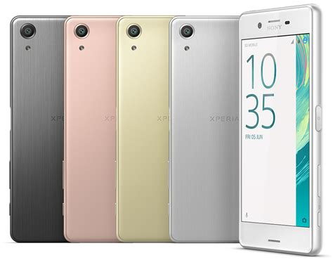 sony xperia phone sony xperia x performance phone specifications