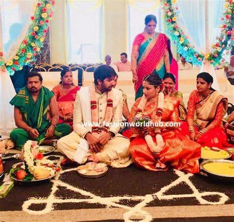 mahathalli jahnavi  married  sushant fashionworldhub