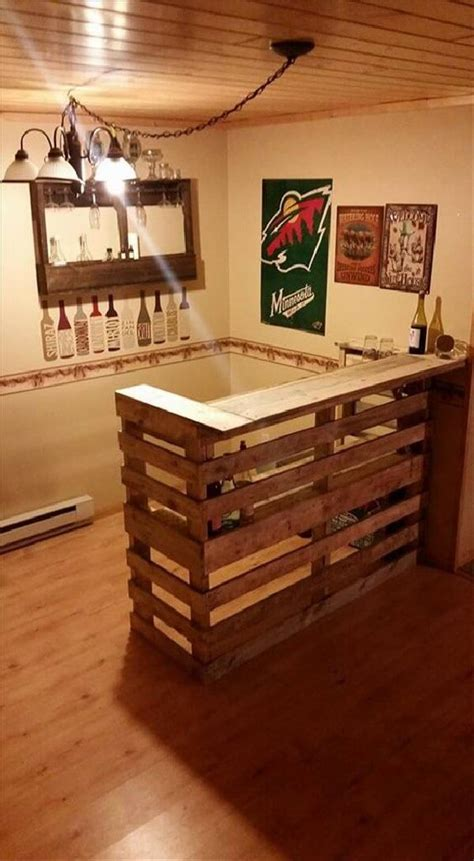 Diy Bar by Diy Bar Projects For Wooden Pallets Ideas With Pallets