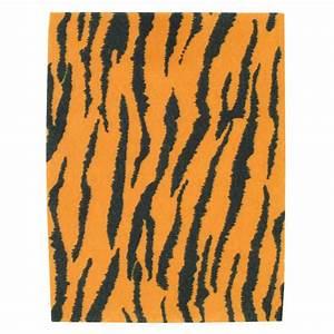 Tiger Print Felt Sheet A4 Hobbycraft
