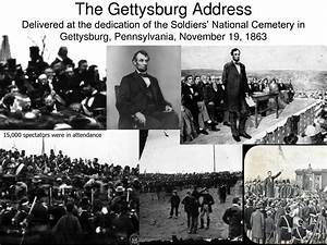 Abraham Lincoln Gettysburg Address | there are actual ...
