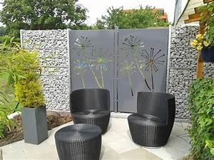 Terrassen Sichtschutz Modern : sichtschutz mit motiv ganz individuell hier vergleichen ~ Orissabook.com Haus und Dekorationen