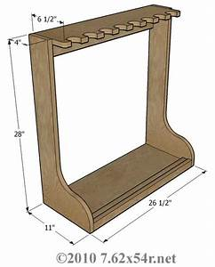 Wood - Vertical Gun Rack Plans Free How To build an Easy