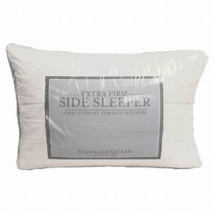 extra firm density side sleeper pillow With best extra firm pillow for side sleepers