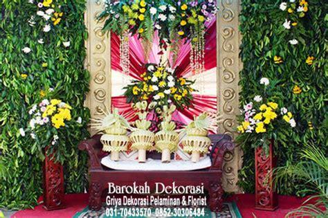 dekorasi pelaminan rias pengantin surabaya