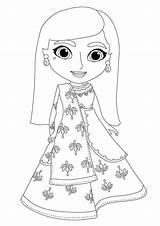 Mira Detective Royal Coloring Printable Anoop sketch template