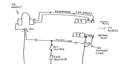Aviation Headphone Wiring Diagram Stereo by Wheels Wings And Radio Things Wiring Up An Aviation