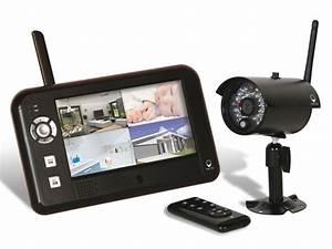 Systeme Video Surveillance Sans Fil : kit vid osurveillance maison 250 m tres dw scs la boutique ~ Edinachiropracticcenter.com Idées de Décoration