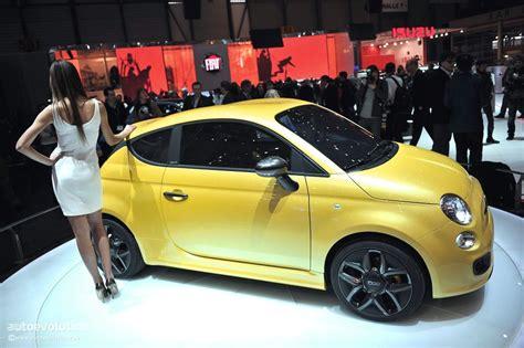 Fiat 500 Zagato by Geneva 2011 Fiat 500 Coupe Zagato Concept Live Photos