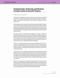 Crossfit U2122 Level 1 Training Guide  Second Edition