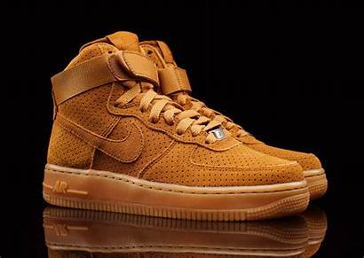 Force Air Suede Tawny Wmns Beige Nike