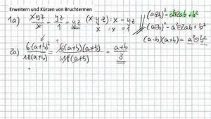 Brüche Berechnen Und Kürzen : erweitern und k rzen von bruchtermen mit ab und l sungen youtube ~ Themetempest.com Abrechnung